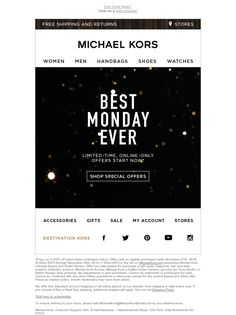 Michael Kors - Patron, This Is Kind Of A Big Deal...