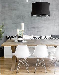 Table magnifique + iD banquette