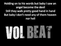 Heaven no hell - volbeat