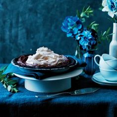 Mocha Pie with Coffee Whipped Cream Recipe | CookingLight.com