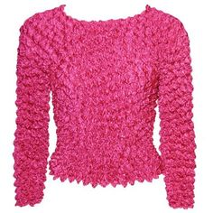 Gourmet Popcorn - Long Sleeve (Magenta) The Magic Scarf Co.. $18.00