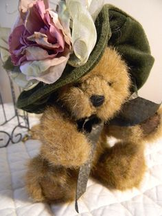 Victorian Boyds Bear Collectible Romantic Velvet by TalesofTime