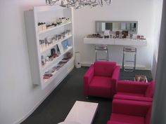 interieur beautysalon in Haarlem|