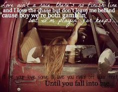 -made this :) Fall into me - Brantley Gilbert <3