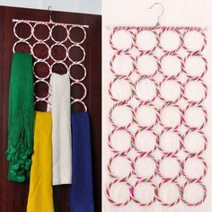 28 Circles Scarf Holder Color Varies
