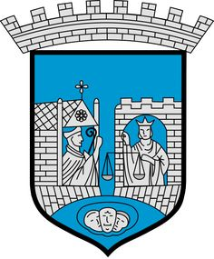 Coat of arms for the municipality (kommune) of Trondheim, Norway
