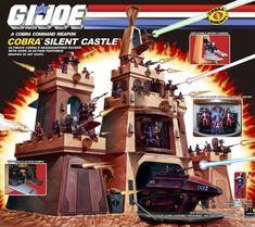 GI Joe Cobra Silent Castle Playset