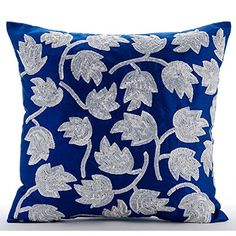 Luxury Royal Blue Throw Pillow Covers, Sequins Tulip Flow... https://www.amazon.com/dp/B016H8W0JC/ref=cm_sw_r_pi_dp_x_KimbybA9KEE02