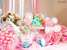 Candy Buffet Table