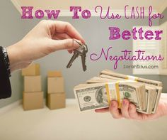 When you have cash in the bank to make those major purchases, you will end up saving a lot of money, and I'm not even counting the interest from the loan. Find out how to use cash for better negotiations.