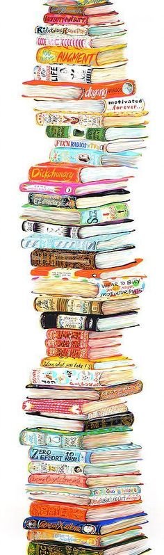 Bookish art #literaryart http://writersrelief.com/