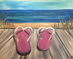 Ideas For Cool Art Projects For Adults Canvases Painting Canvas Crafts, Wine Painting, Summer Painting, Abstract Canvas Art, Canvas Paintings, Painting Prints, Art Projects For Adults, Cool Art Projects, Beach Canvas