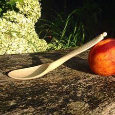 #cherrywood #eatingspoon #greenwood #woodculturerenaissance #sloyd #madeindorset