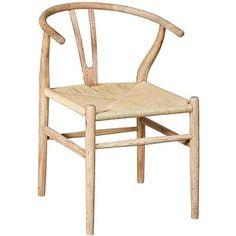 Broomstick Light Oak Bentwood Accent Chair