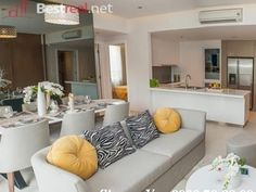 3bedrooms Masteri Thao Dien apartment for rent with furnished, 95sqm and nice view