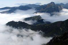 #Asturias bajo las nubes // #Asturias under de clouds