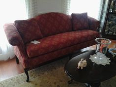 6700 Friendship Upholstery, Camel Back Sofa in Severna Park, MD. #GladhillFurniture #Middletown #Design