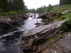 Scotland, River and Rocks