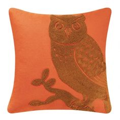 Looking for an easy update to your favorite reading chair or bedroom? A stylish pillow with an embroidered owl and a cozy fill is a chic accessory. Color: Materials or Fiber Content: Cotton Cover / Poly Fill - See more at: http://ashlie.athome.com/86154005-owl-pillow.html#sthash.aNIDoP5d.dpuf