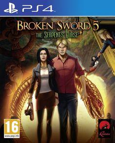 Broken Sword 5: The Serpents Curse - PS4 - FastGames - Gamers levados a sério