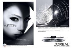 L'Oréal Paris Cosmetics Advertising with Jennifer Lopez