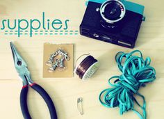 pocketful of pretty: toy camera strap diy