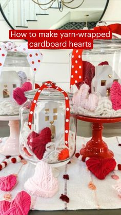 Valentines Day Party, Valentines Day Decorations, Valentine Day Crafts, Be My Valentine, Holiday Crafts, Pink Crafts, Yarn Crafts, Diy And Crafts, Crafts For Kids