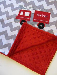 Personalized Baby Blanket 30x35 Minky Baby by FunnyFarmCreations