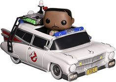 Funko POP! Movies: Ghostbusters - Winston Zeddmore and Ecto 1 Action Figure -