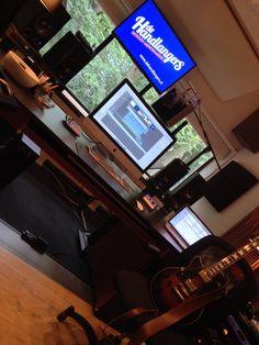 Composing @ Wisseloord studio