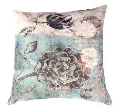 Cushion Cover - Botanical Graffiti - Kerrie Brown