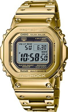 Shop men's and women's digital watches from G-SHOCK. G-SHOCK blends bold style with the most durable digital and analog-digital watches in the industry. Casio Gold, Casio G-shock, Casio Watch, G Shock Watches, Watches For Men, Wrist Watches, Analog Watches, Men's Watches, Jewelry Watches