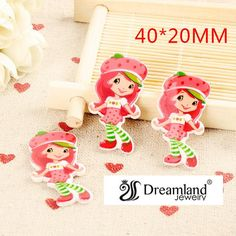 Find More Resin Crafts Information about 50pcs/lot 40MM X 20MM  New cartoon resin flatbacks kawaii red hat girl flat back planar resin for DIY holiday decoration DL 186,High Quality Resin Crafts from Dreamland Fashion Jewelry on Aliexpress.com