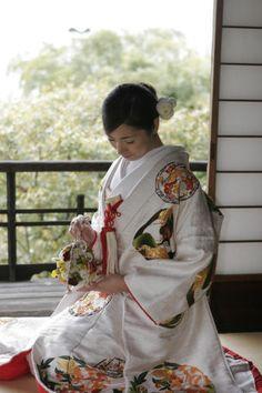 和装・着物・内掛け 京都 和の結婚式、披露宴、ウェディング 料亭 京大和