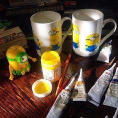 WEBSTA @ ola_bilo4ka - Спеціально поповнила запаси жовтої фарби