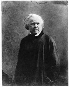 Honoré Daumier by Nadar