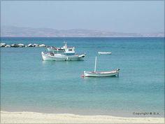 Naxos island in Cyclades, Greece.
