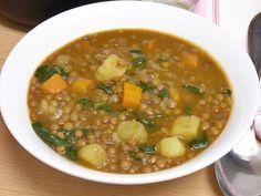 Veggie Recipes, Soup Recipes, Vegetarian Recipes, Healthy Recipes, Easy Cooking, Healthy Cooking, Soups And Stews, Deli, Tapas