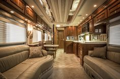 rv interior luxury rv and interiors on pinterest. Black Bedroom Furniture Sets. Home Design Ideas