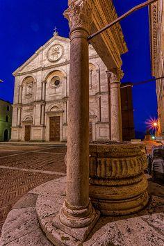 Pienza Square - Pienza, Italy.