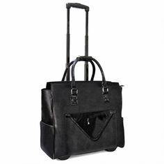 """Cabrelli Women's 15.6"""" Rolling Laptop Bag with Removable Clutch - Women's - Laptop Bags"""