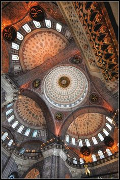 """Istanbul, Mosque (it could be New Mosque """"Yeni Camii"""") by Chris Panagiotidis Islamic Architecture, Historical Architecture, Beautiful Architecture, Beautiful Buildings, Art And Architecture, Architecture Details, Magic Places, Beautiful Mosques, Chapelle"""