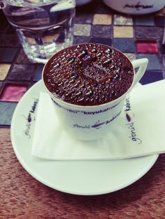 İt's a pleasure to drink turkish coffee :)