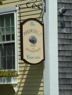 Nantucket Periwinkle Inn 2005