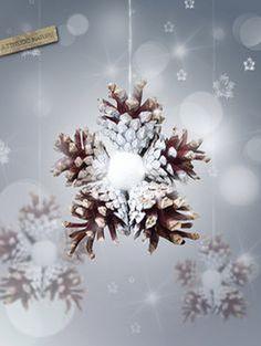 20 idei minunate pentru a realiza ornamente din conuri de brad 20 idei minunate pentru a realiza ornamente din conuri de brad. Sunt banale, toate la fel si atrag cu nimic, dar priviti imaginile din acest articol pentru http://ideipentrucasa.ro/20-idei-minunate-pentru-realiza-ornamente-din-conuri-de-brad/