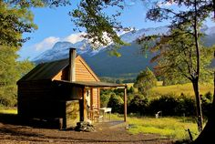 Paradise, Old School House, Glenorchy, New Zealand