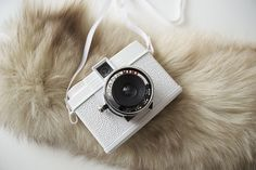 Diana Mini in white #lomography #camera