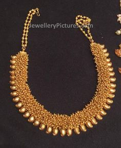 Central India Maharashtra Gold Wedding Necklace With