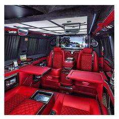 Limousine interior, truck interior, fancy cars, all cars, luxury interior. Maserati, Bugatti, Lamborghini, Audi, Porsche, Jet Privé, Luxury Van, Kombi Home, Van Interior