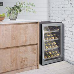 WF333 | Freestanding Wine Cabinets | Caple UK Wine Cabinets, Black Cabinets, Wine Chiller, Sink Taps, Wine Wall, Stainless Steel Doors, Energy Consumption, Wine Fridge, Interior Lighting